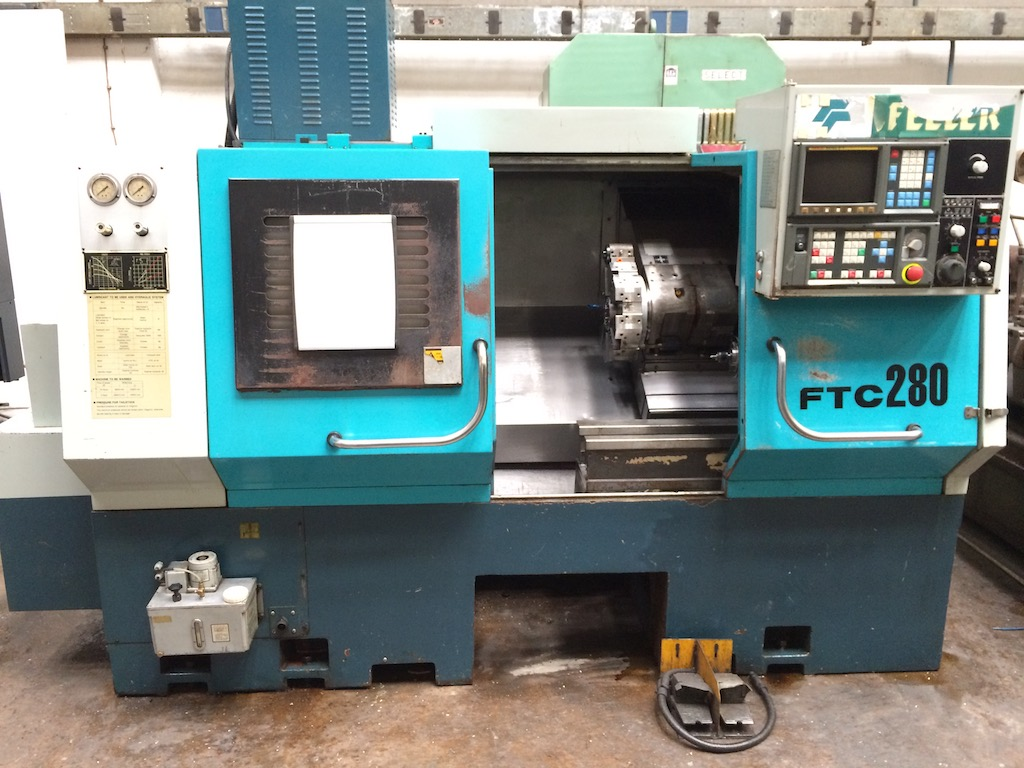 CNC lathe Feeler FTC 280 - TP Machines - new and used machinetools