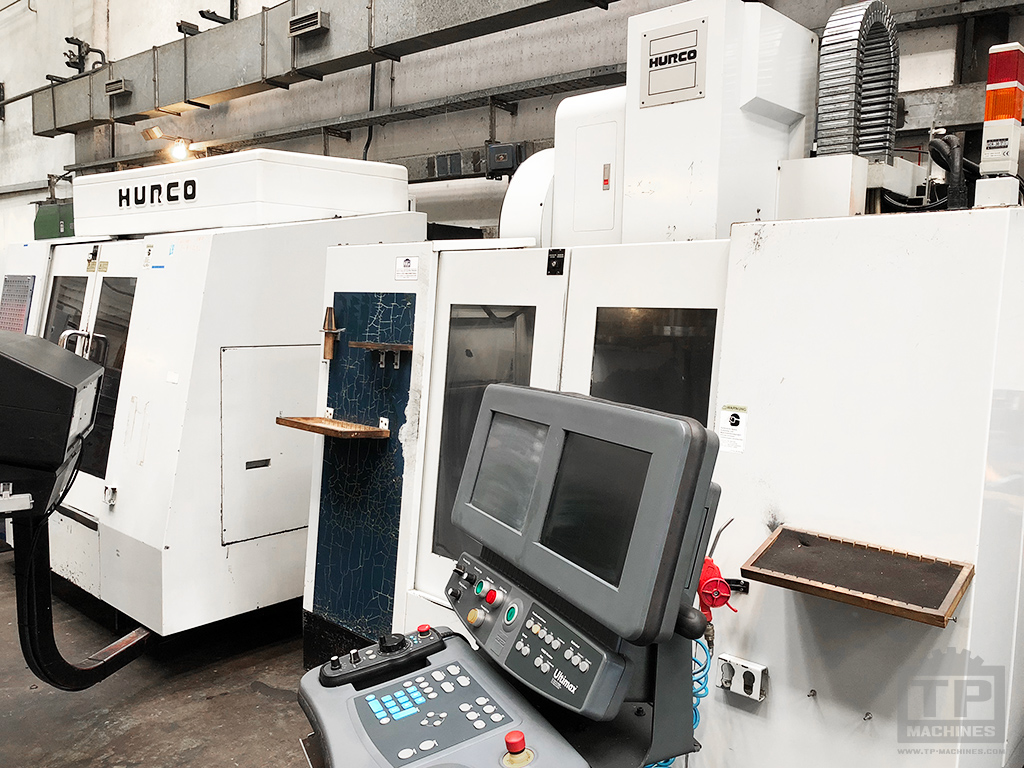 2 Hurco VMC's arrived in stock; BMC 2416/DSM & BMC 30/M - TP Machines - new and used machinetools